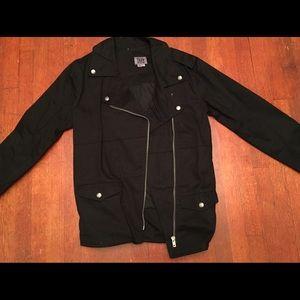Tripp women's moto jacket